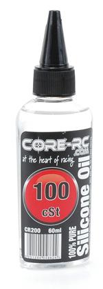 CORE R/C Silicone Oil - 100cSt (10wt) - 60ml