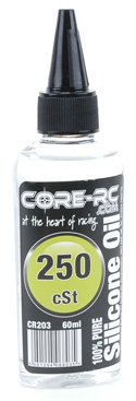 CORE R/C Silicone Oil - 250cSt - 60ml