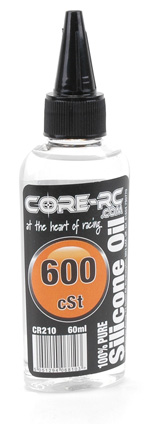 CORE R/C Silicone Oil - 600cSt (50wt) - 60ml
