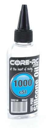 CORE R/C Silicone Oil - 1000cSt (80wt) - 60ml