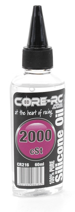 CORE R/C Silicone Oil - 2000cSt - 60ml