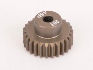 Pinion Gear 48DP 26T (7075 Hard Alloy)