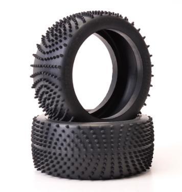 Schumacher Wave Large Scale FG/Hormann 110mm Tyre - Yellow Compound