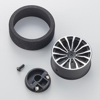 Aluminium Steering Wheel 2 - Black