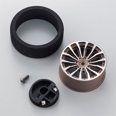 Aluminium Steering Wheel 2 - Gun Metal