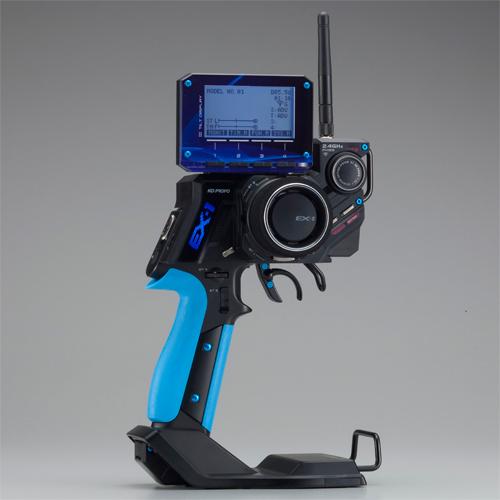 KO Propo Ex1 Ver 3 (Kiy) Kr-413Fh Set-Tx+Rx-Blue