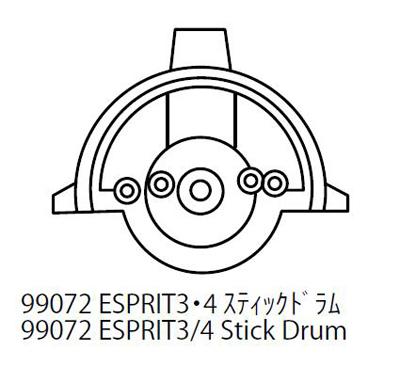 Esprit 3/4 Stick Drum