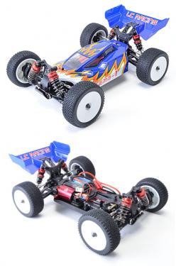 LC Racing 1:14 Buggy Body - Blue