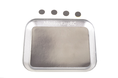 Magnetic Tray - Silver - 1pc