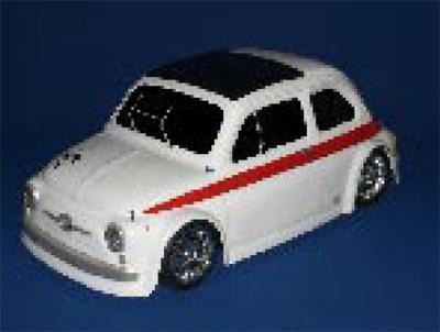 Montech 595 Sport - 1/10 Body for Tamiya Mini / Supastox
