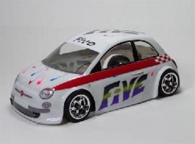 Montech 5 - 1/10 Body for Tamiya Mini