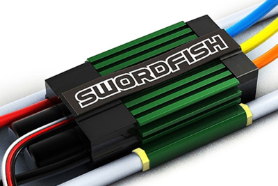 Swordfish 120A ESC for Marine