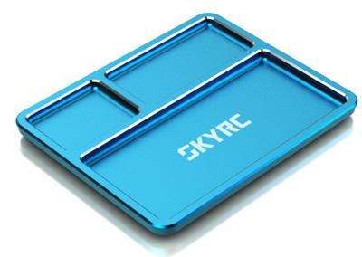Aluminium Parts Tray - Blue
