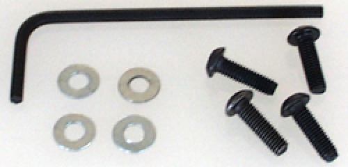 M3x10mm Button Screws+Washers(pk4)