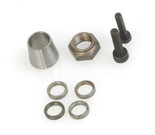 Crank Nut; Washer & Cone-21/28