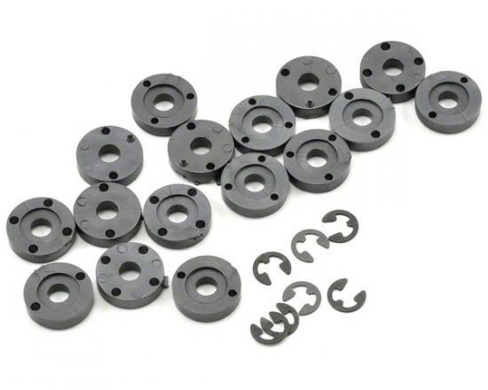 One Piece Shock Pistons - 4 sets of 3