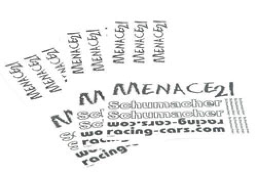 Decal Sheet - Menace         pk 3