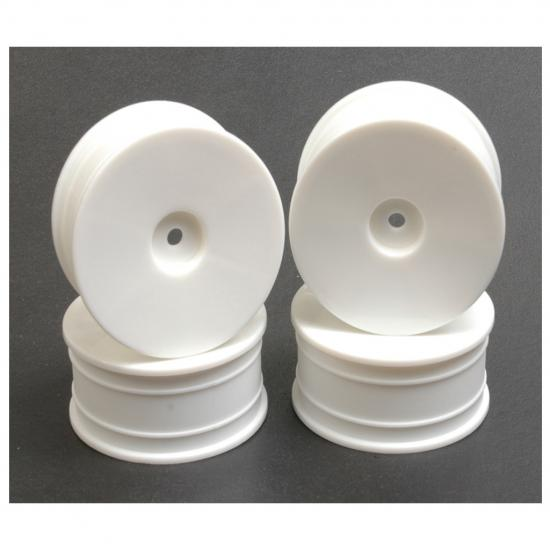 Rev Lite Flex Dished Wheels - 24mm Wide - White - Set Of 4