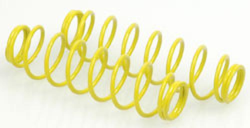 Shock Springs; Rear H10R Yellow (pr)
