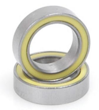 Ball Bearing - 10x15x4 (pr) Rubber Sealed