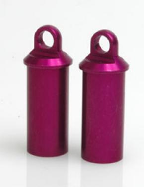 Alloy Shock Body; Short Purple  (pr)