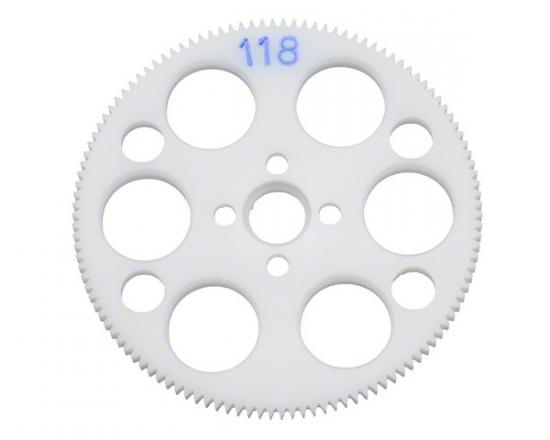 118T 64dp CNC Spur Gear - Mi-3