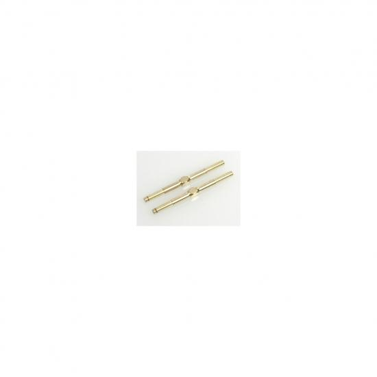Turnbuckle Adjuster; Gold - 45mm (pr)