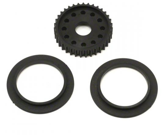 Pulley; 35T Overdrive Diff - Cat SX