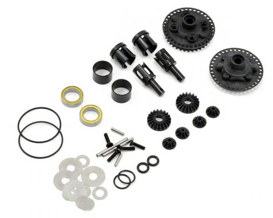 Assembled Gear Diff - Mi5