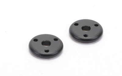 3 Hole Piston (Black) - Off Road - (pr)