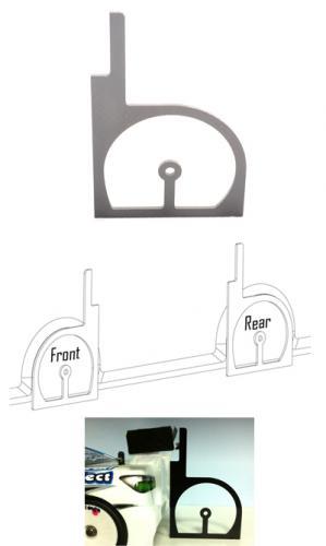 Touring Car Wheel Arch Cutting Jig
