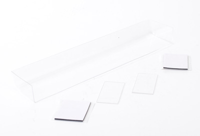Schumacher Touring Car Wing + 2 End Plates - Clear