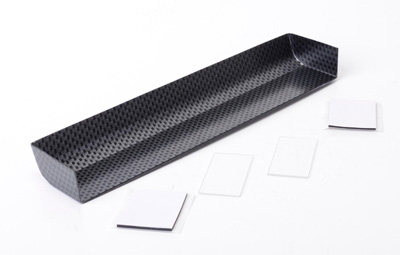 Schumacher Touring Car Wing + 2 End Plates - Carbon