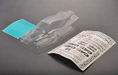 Schumacher K2 Bodyshell With Decals and Window Masks