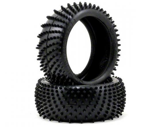 Schumacher Yellow Spiral 1/8 Buggy Tyres - 1 Pair