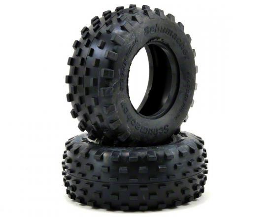 Schumacher Stagger Rib SC Tyres - Blue - 1 Pair