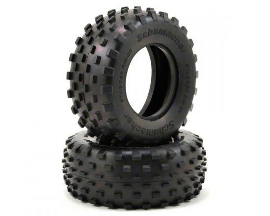 Schumacher Stagger Rib SC Tyres - Silver - 1 Pair