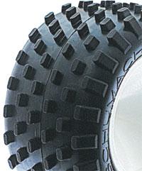 Schumacher Stagger Rib 2.2 Truck Tyres - Silver (2)