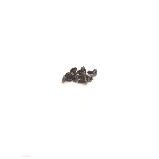 Round Head Screws with Dielectric M2.5x6 - 10pcs