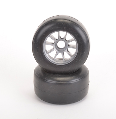 Shimizu F1 Front Tyre Soft - Pre-Glued - Pair
