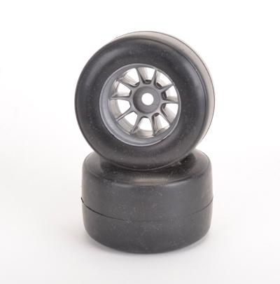 Shimizu F1 Rear Tyre Med - Pre-Glued - Pair