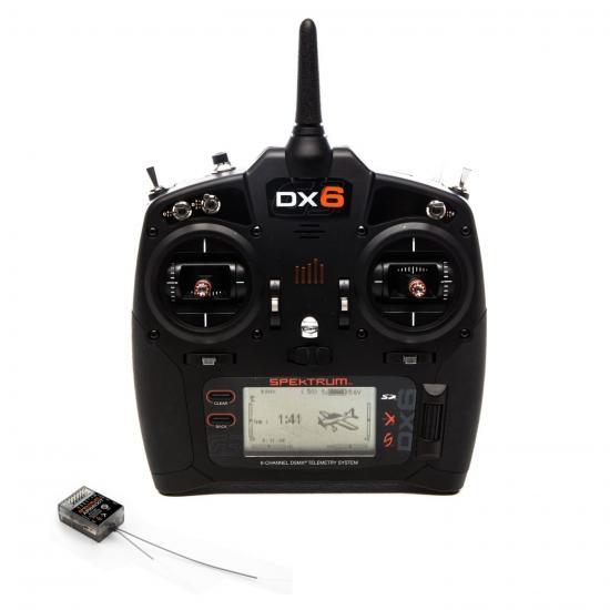 Spektrum DX6 G3 Transmitter with AR6600T Receiver