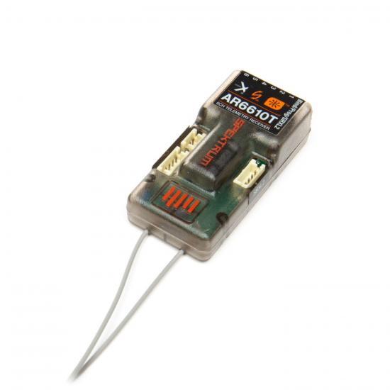 Spektrum AR6610T 6 Channel DSMX Telemetry Receiver