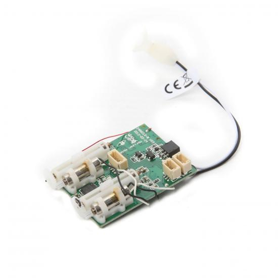 AS6410L DSMX 6-Ch Ultra Micro AS3X Receiver/ESC