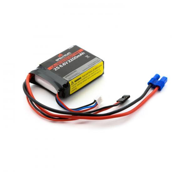 Spektrum LiFe Receiver Battery - 2200mAh 2S 6.6v