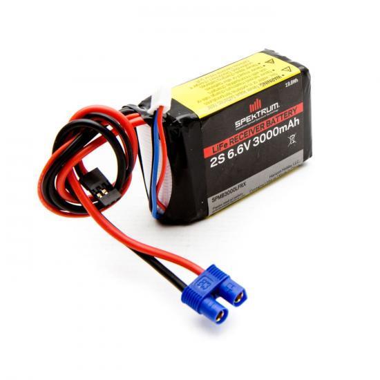 Spektrum LiFe Receiver Battery - 3000mAh 2S 6.6v
