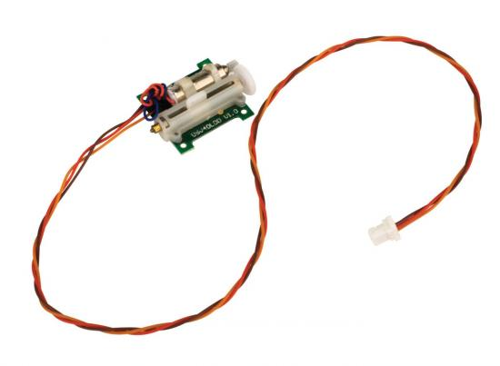 2.3 Gram Linear Long Throw Offset Servo With Long Lead