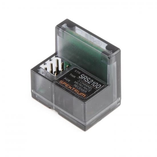 Spektrum SR2100 DSMR Micro Race Antenna-Less Receiver