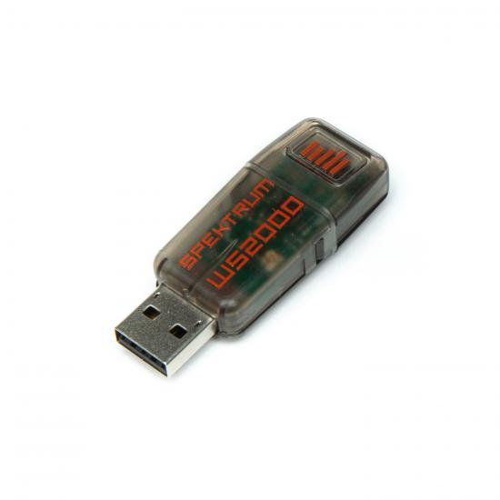 Spektrum WS2000 USB Wireless Dongle for Simulators (Replaces WS1000)