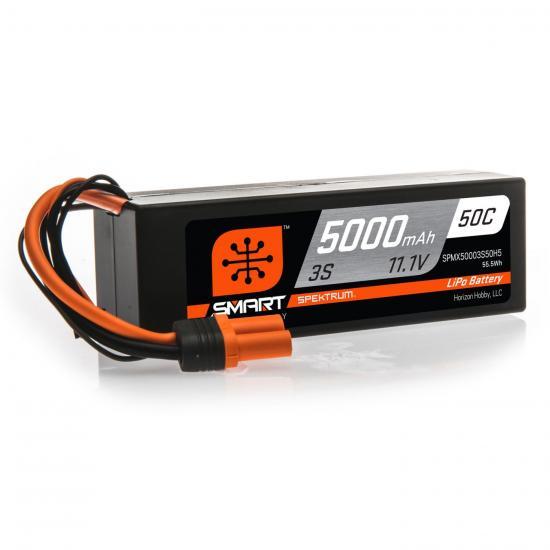5000mAh 3S 11.1V 50C Smart LiPo Hardcase IC5